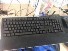 Keyboard with no letters