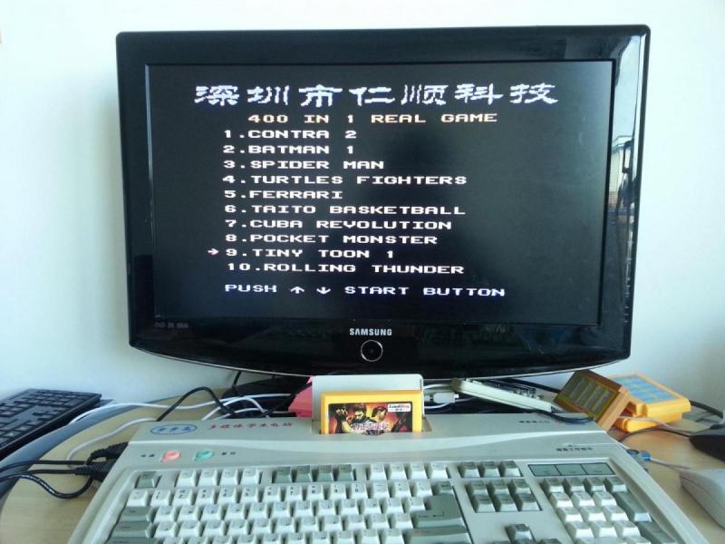 Set Up 8-bit Ultimate Famicom Game Console - BBG (BBK
